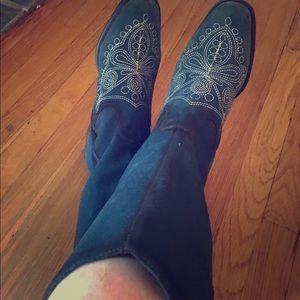 NWOT Dr. Schools cowboy boots